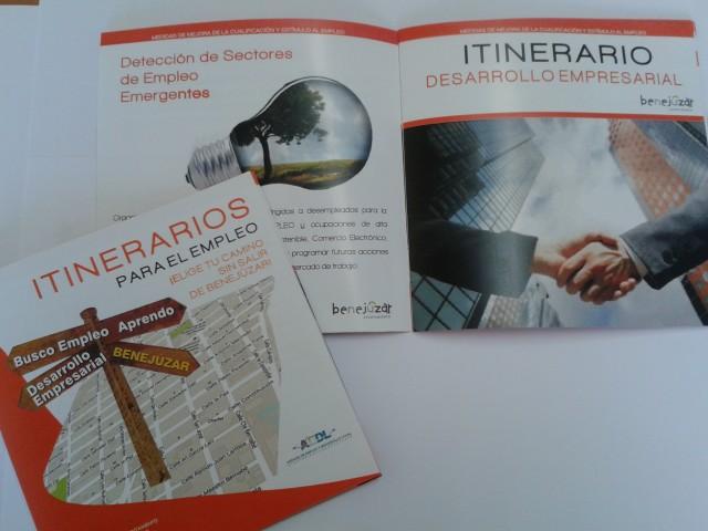 Itinerarios empleo 2