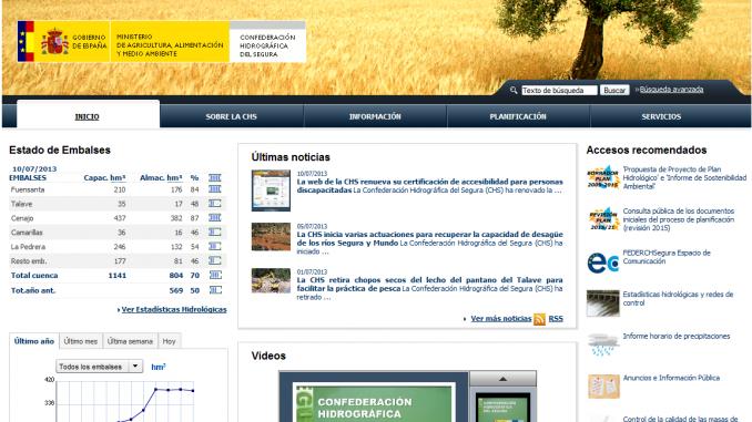 CHS web