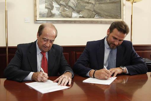Firma Convenio CONVEGA CEEI VALENCIA 2013
