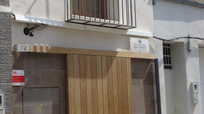 Miguel Hernández casa natal