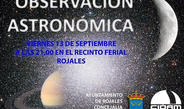 OBSERVACIÓN ASTRONÓMICA 13-09-13