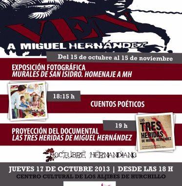 Octubre hernandiano cartel