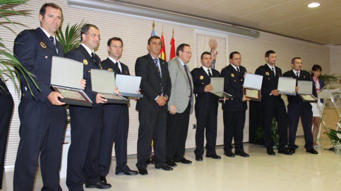 HOMENAJE POLICÍA PILAR 1OCT2013