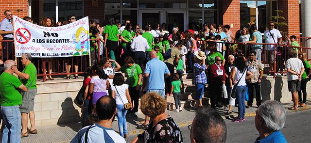 24O Huelga Educativa Rojales