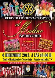 REVISTA CÓMICO-MUSICAL. DICIEMBRE 2013