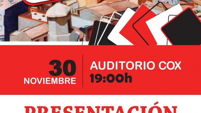 Cartel Presentación IU Cox 22nov2013
