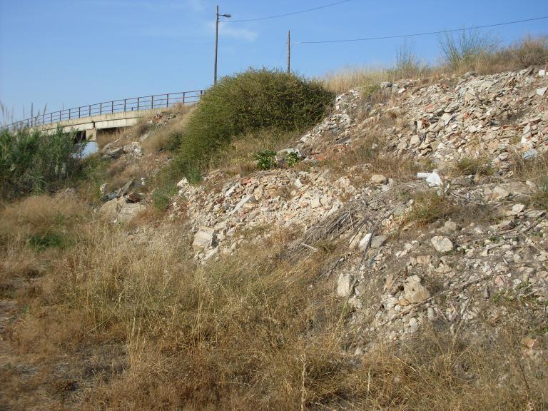 Puente con escombreras 13NOV2013