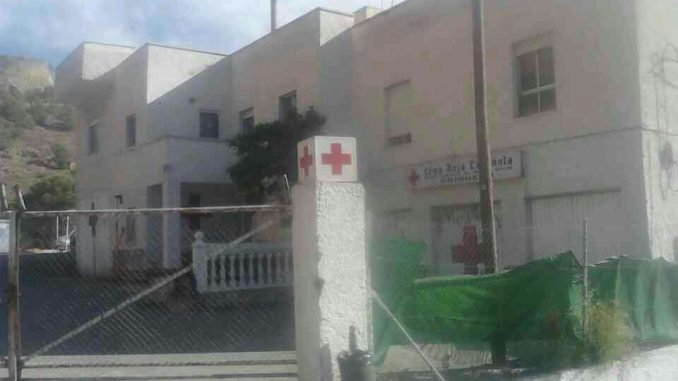 Cruz Roja puesto