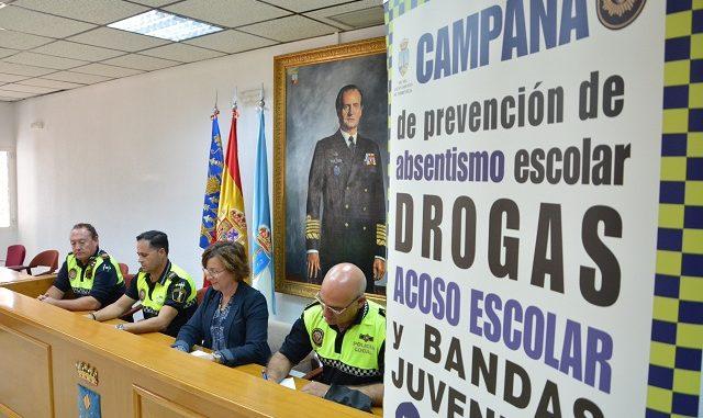 LA UNIDAD DE PROTECCIÓN ESCOLAR DE LA POLICIA LOCAL COMIENZA UN NUEVO PROGRAMA DE CHARLAS DIRIGIDO A ALUMNOS DE SECUNDARIA 2