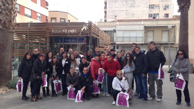 AlumnosTorrevieja a Almoradí 21nov2013