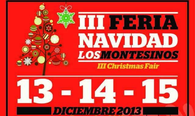 Cartel Feria Navidad 9dic2013
