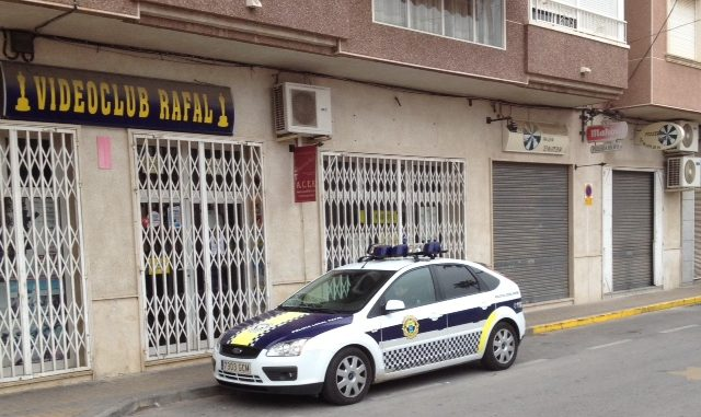 Vehículo Policía Local Rafal 20ene2014