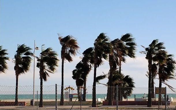 vientos fuertes