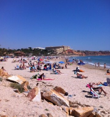 beach orihuela costa