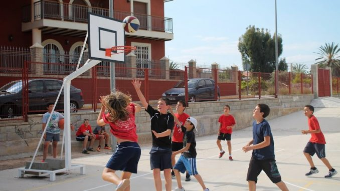 Basket olimpiadas Montesinos 26may14