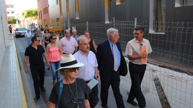 Sanchez Barcáiztegui segunda visita centro sociocultural 12 09 14
