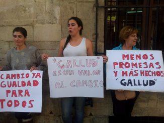 Mercaderes protesta