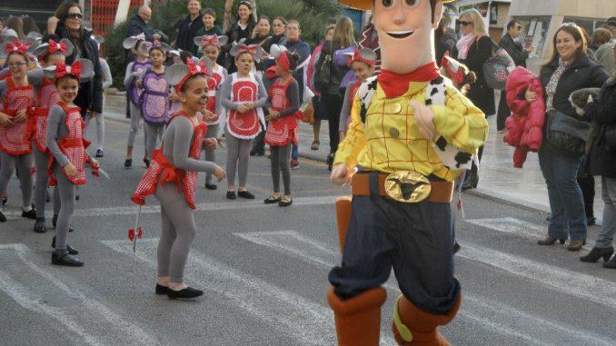 Desfile Infatntil de Torrevieja