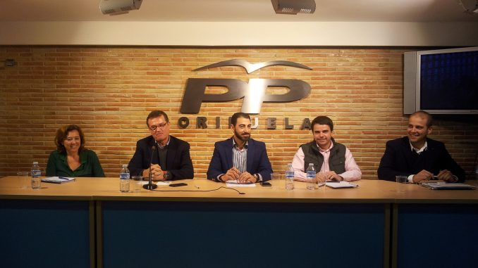PP comarcal en Orihuela