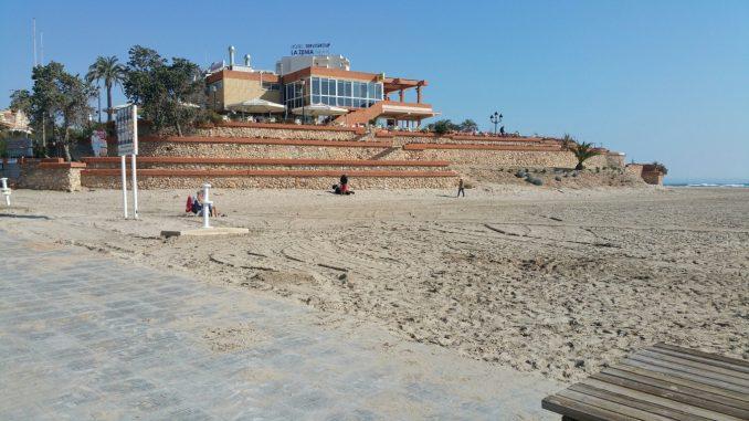 playa La Zenia