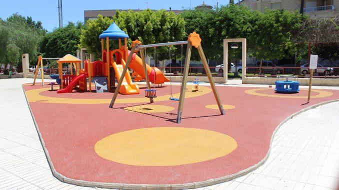 parque infantil Rojales
