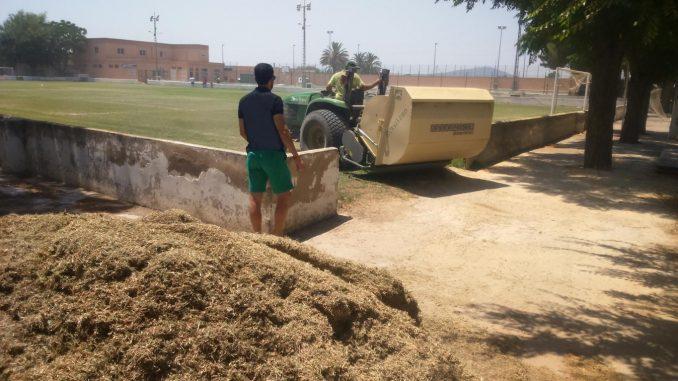 Mejora instalaciones deportivas San Bartolomé