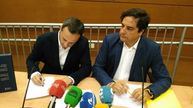 César Sánchez y Emigidio Tormo