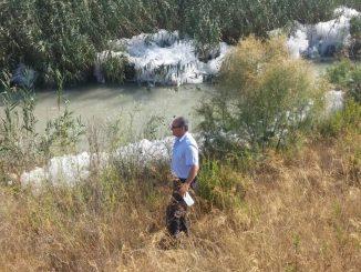Operario río Segura