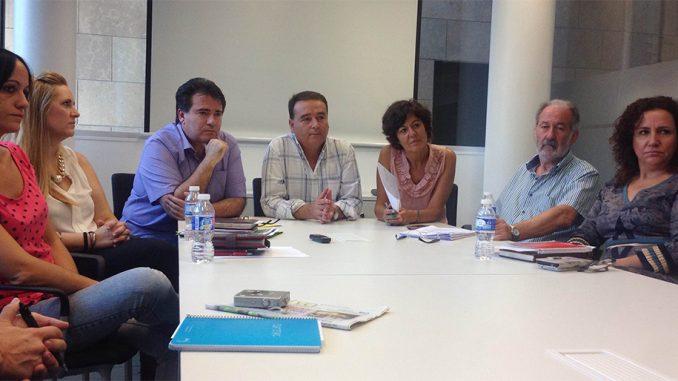 equipo de gobierno PSOE IU 100 días