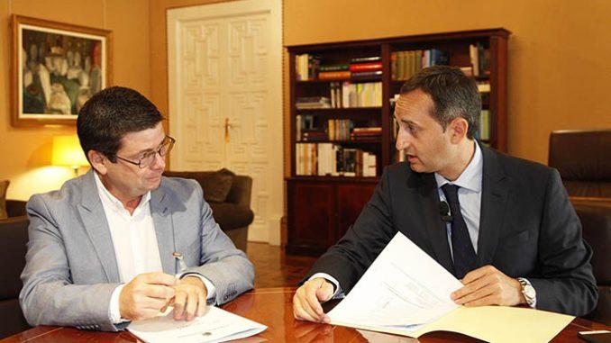 Entrevista Alcalde de Benijófar y Diputación