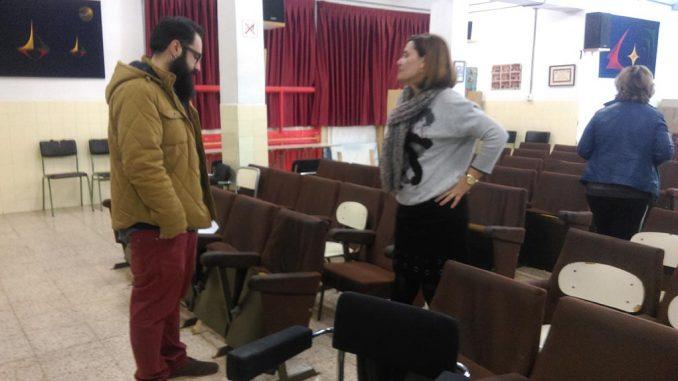 concejal obras CEIP Primo de rivera
