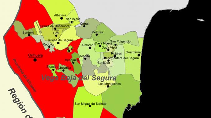 Mapa Vega Baja