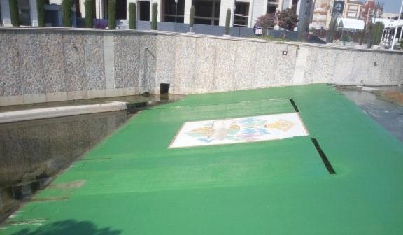 Infraestructuras renovar el deteriorado escudo de - Azulejos levante ...