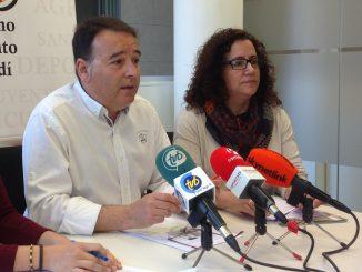 Jaime Pérez y Adela Caracena