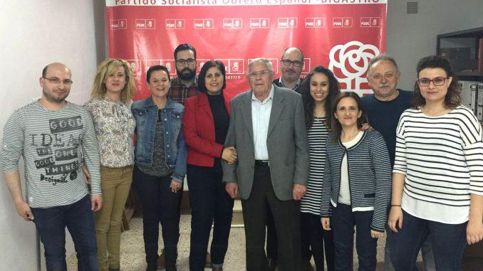 nueva ejecutiva PSOE Bigastro