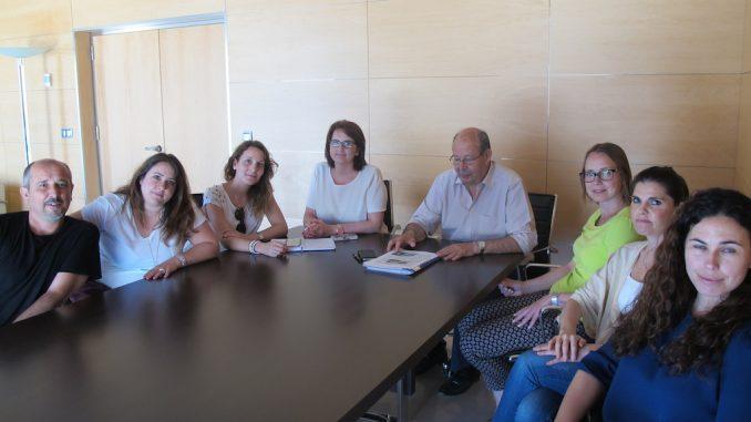 Visita comité Hospital torrevieja