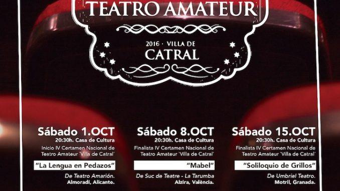 teatro ameteur catral