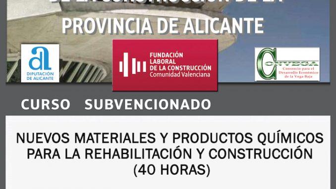 Cartel Formación Construcción Guardamar