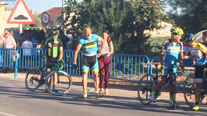 accidente ciclista campanets