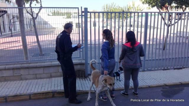 sanciones heces perros policia local
