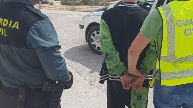 guardia civil arrest