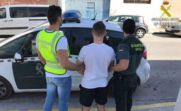 bigastro scrap robbery arrests