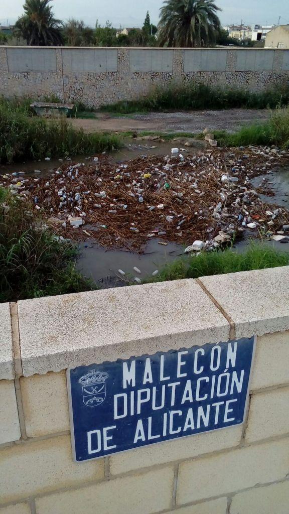 rubbish river segura