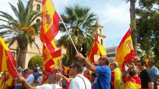 united spain protest