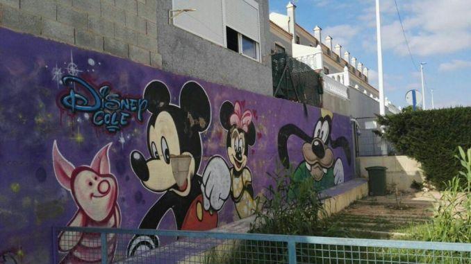 los dolses school wall