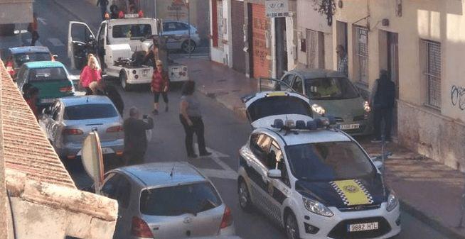 parking crash torrevieja