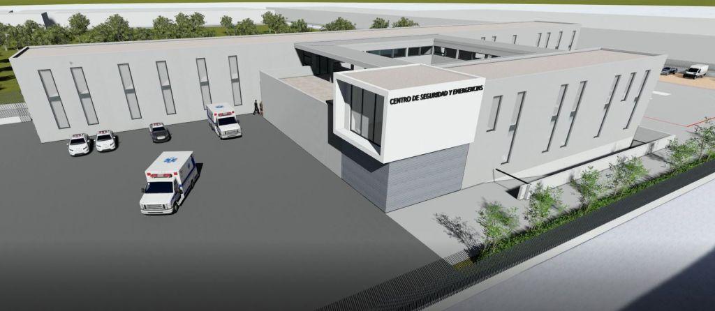 3d model emergencies centre