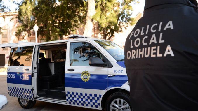 orihuela local police, archive