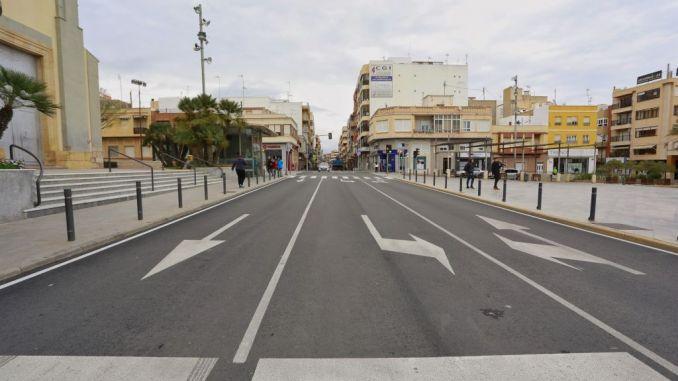guardamar road works