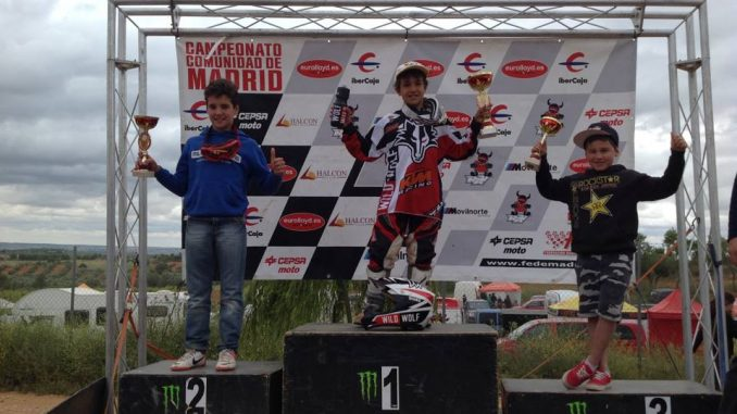 podium david braceras motocross villarejo salvanes madrid